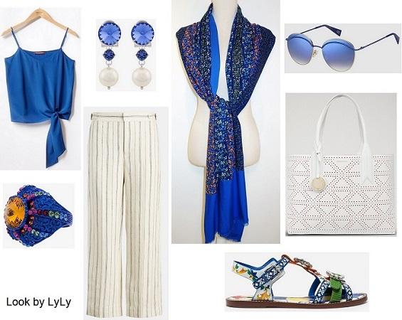18087680d Estilismos para verano en color azul para mujer. - Look by LyLy